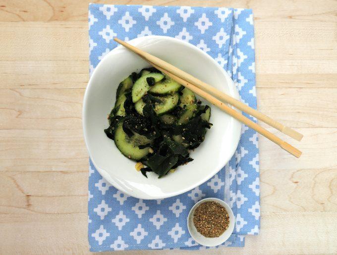 recette-algues-sunomono