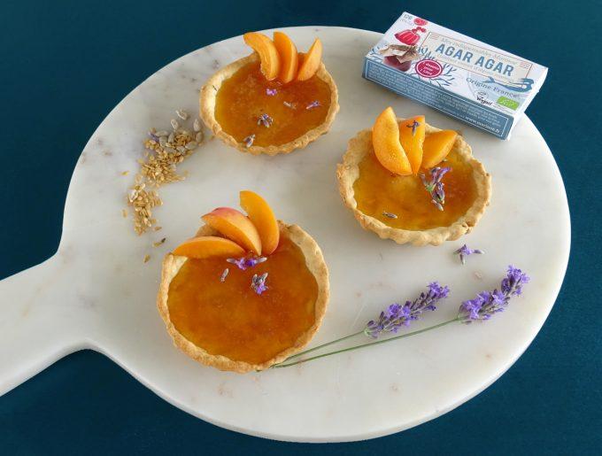tartelettes-abricot-agar-agar