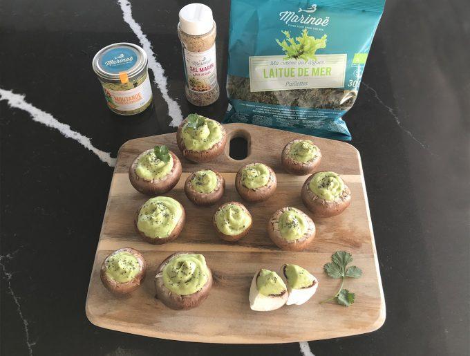 champignons-algues-guacamole